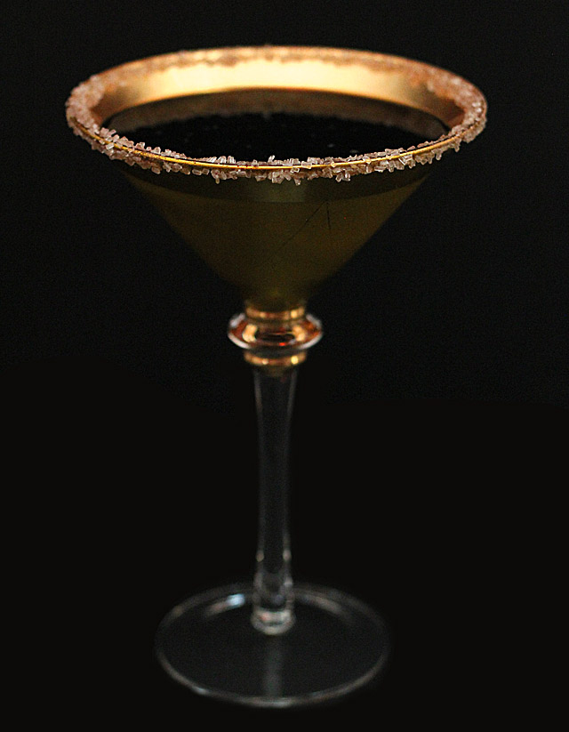 Chocolate Chili Martini and a Chili Russian Cocktail