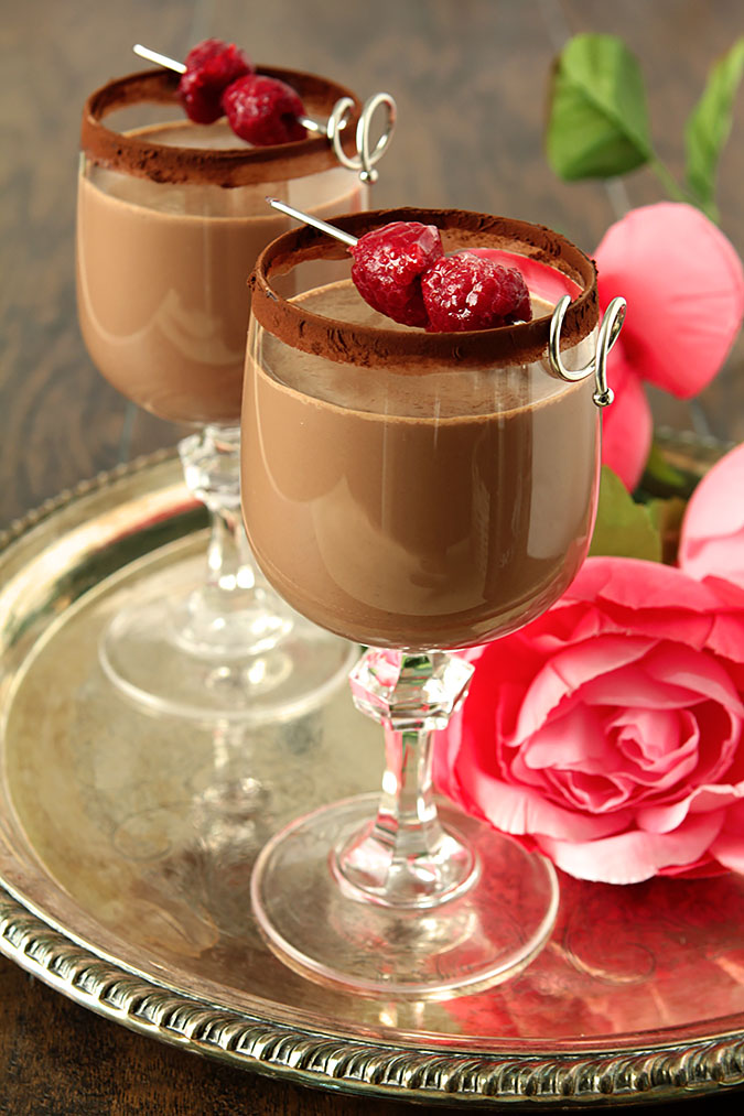 Chocolate Dessert Cocktail with Bailey's Irish Cream