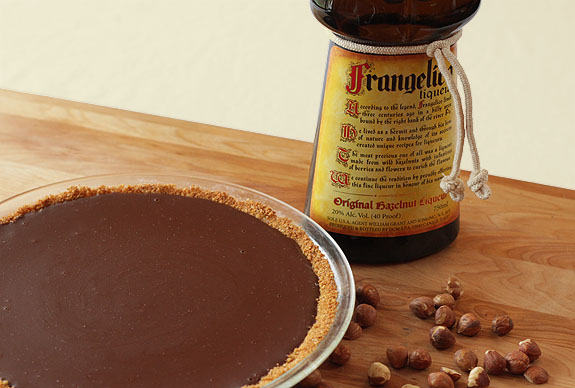 Chocolate Hazelnut Pie with Frangelico - We're Baking with Abby Dodge ...