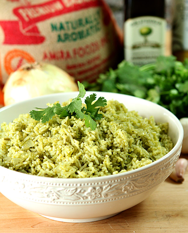 Cilantro and Serrano Pepper Mexican Rice | Creative ...