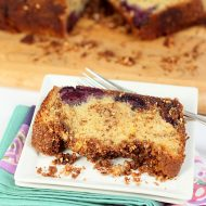 Cinnamon Bread with Cherries and Almonds