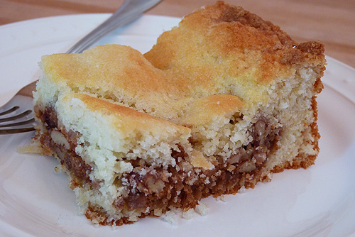 The BEST coffee cake ever