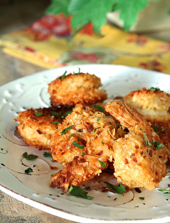 Crispy Coconut Shrimp Appetizer