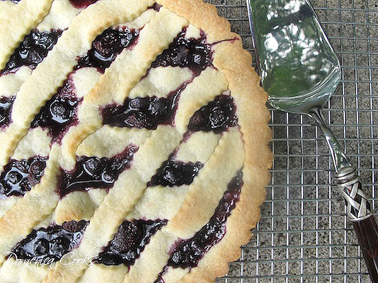 Cherry Crostata Dolce from @creativculinary