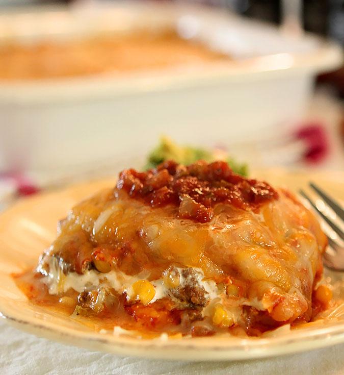 The Best Homemade Enchilada Casserole