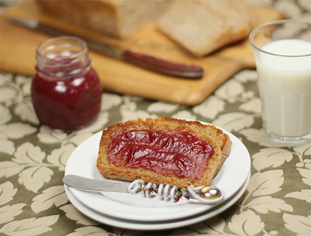 Whole Wheat & Honey English Muffin Bread