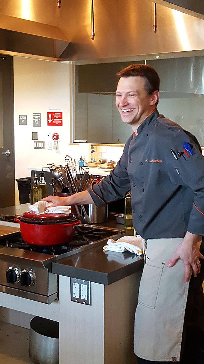 Eric Robbins - Uncorked Kitchen Owner