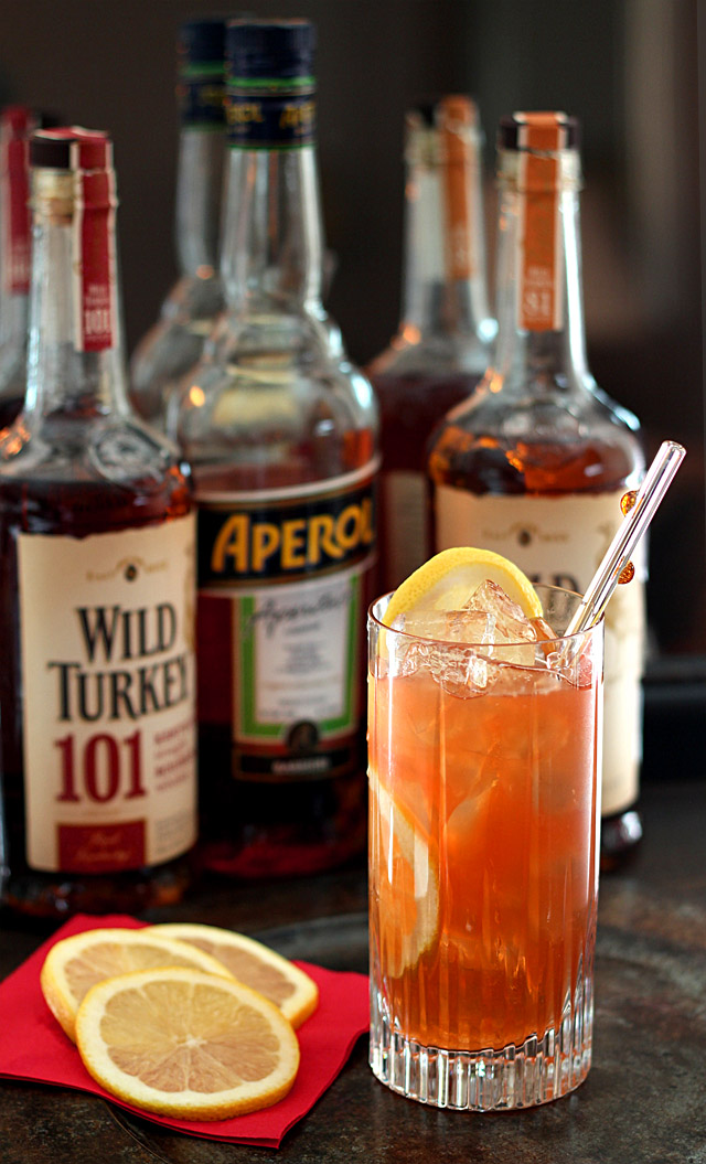 Fourth and Long - Wild Turkey makes a Super Cocktail for the Super Bowl