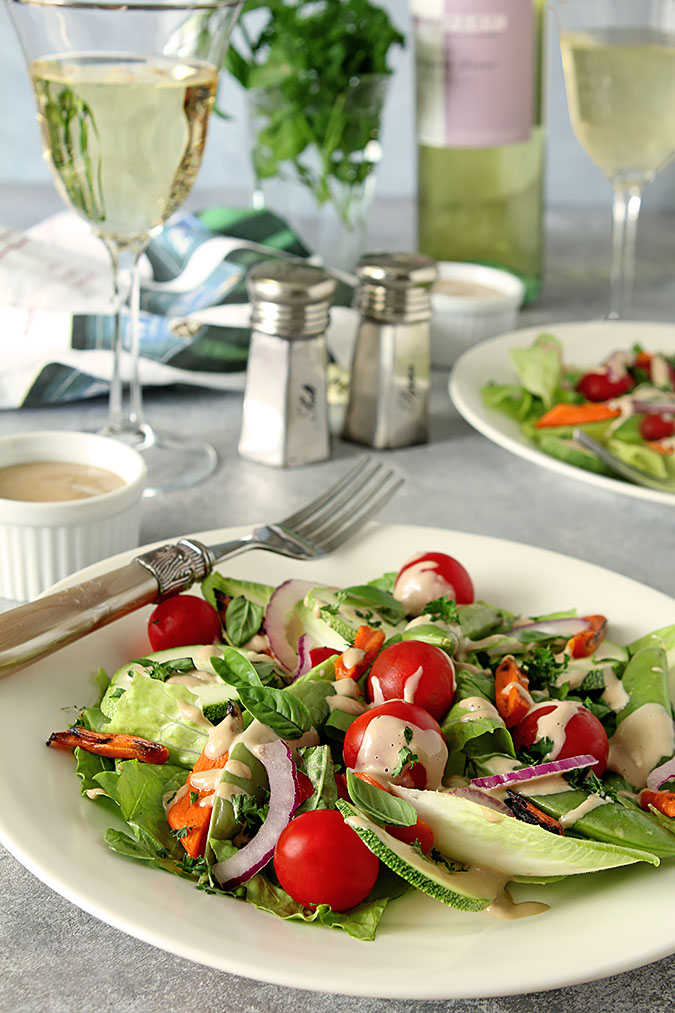 french laundry garden salad with mustard vinaigrette - Garden Salad Recipe