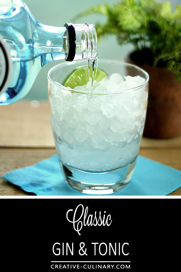 Classic Gin and Tonic PIN