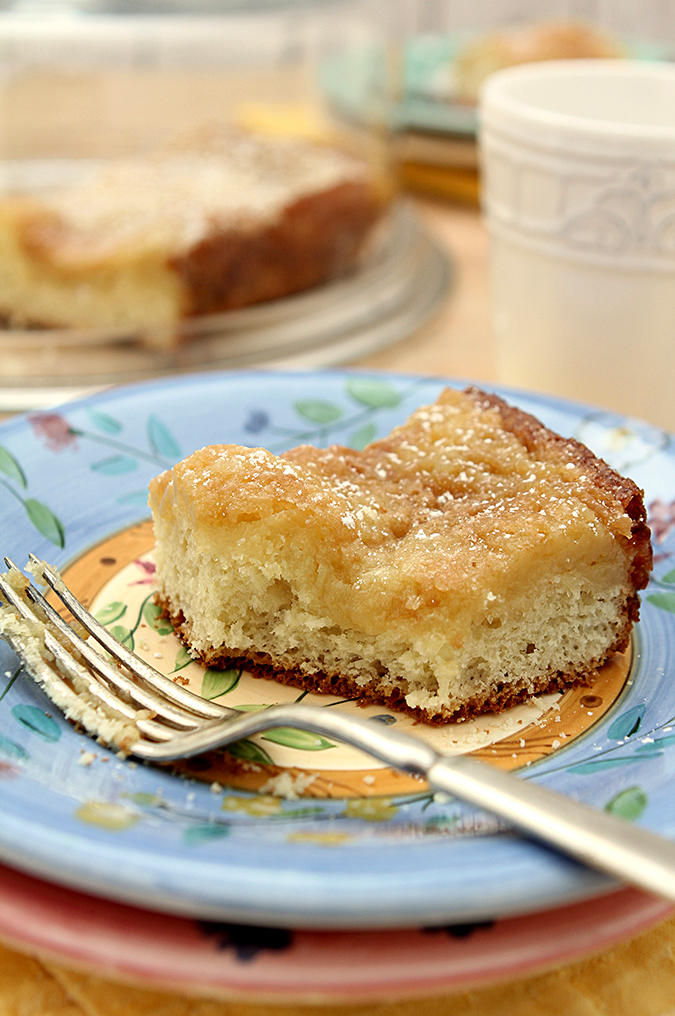 Real St. Louis Gooey Butter Cake
