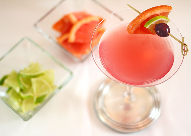 The Tatum - a Grapefruit, Lime and Maraschino Martini | Creative ...