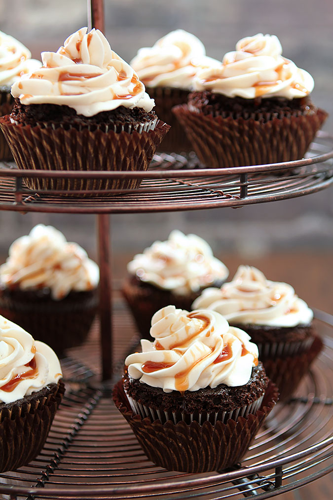 Guinness Chocolate Cupcakes with Irish Whiskey Frosting | Creative ...
