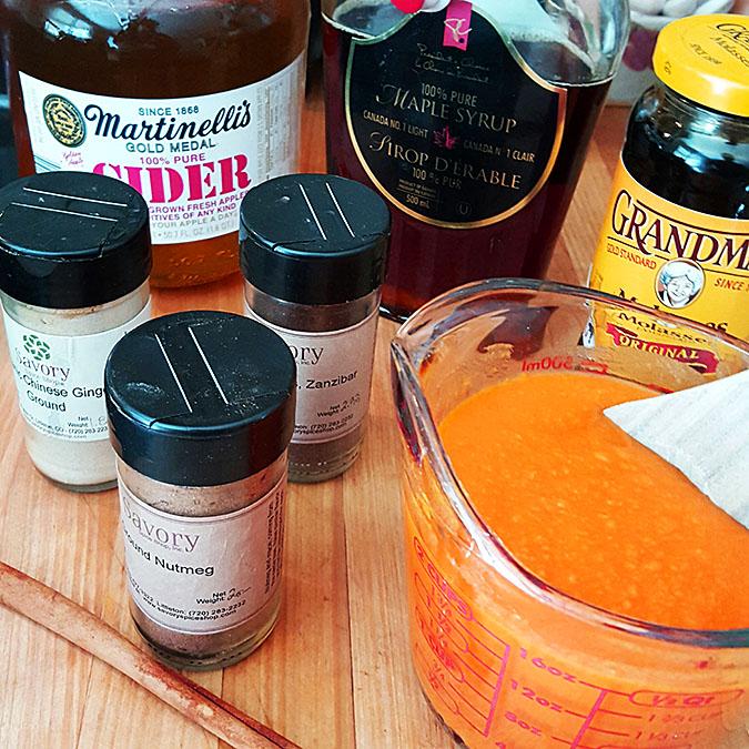 Homemade Pumpkin Butter Ingredients