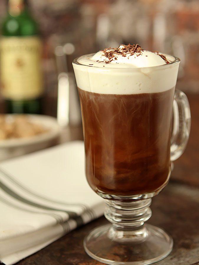 A Classic Irish Coffee