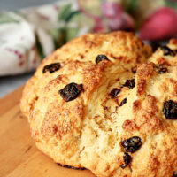 Irish Soda Bread with Tart Cherries