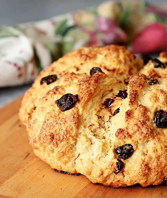 Irish Soda Bread with Tart Cherries | Creative Culinary