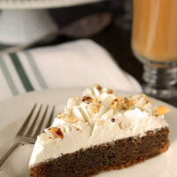 'Irish Coffee' Cake with Irish Whiskey Whipped Cream