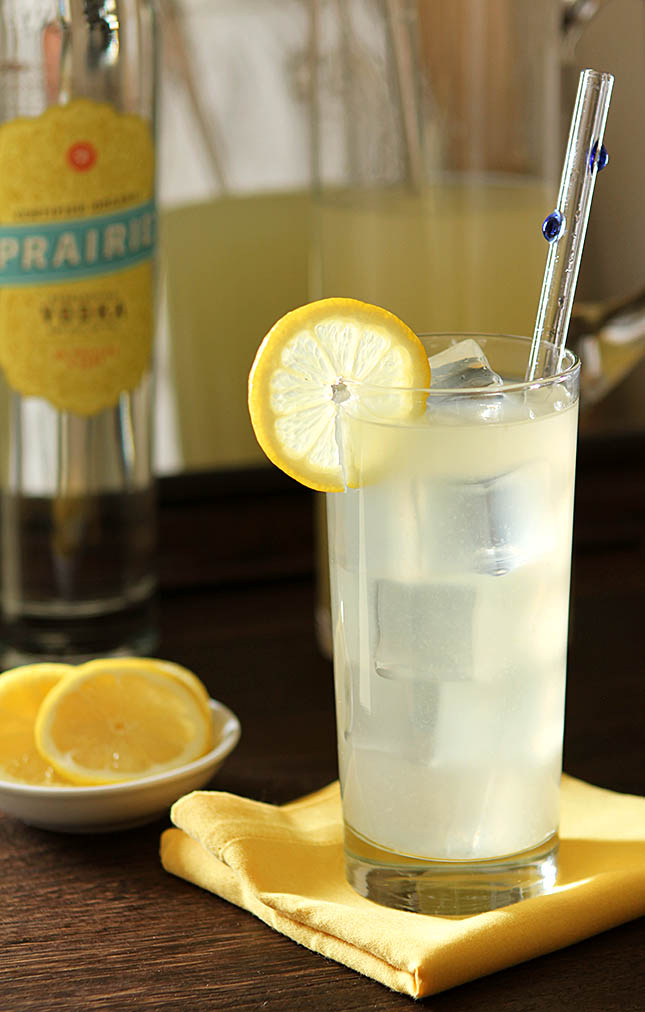 Italian lemonade with vodka gin and orange liqueur for Italian cocktails with vodka