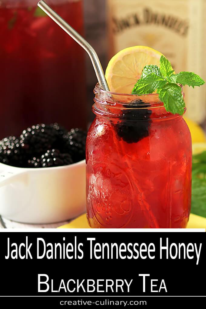 Jack Daniels Tennessee Honey Blackberry Tea