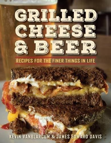 Jalapeno Popper Grilled Cheese from the Grilled Cheese & Beer Cookbook