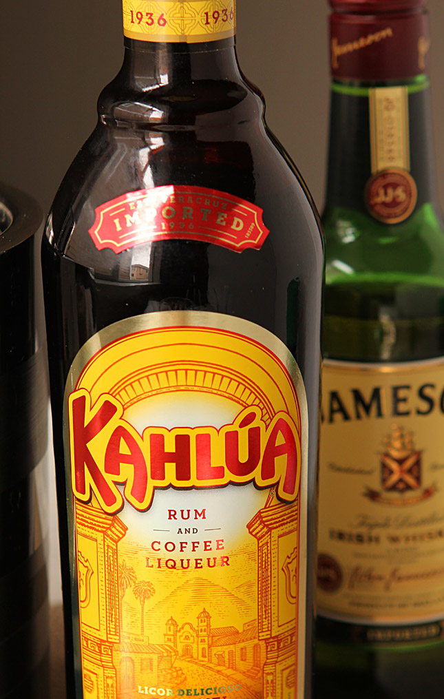 Kahlua and Jamison Irish Whiskey