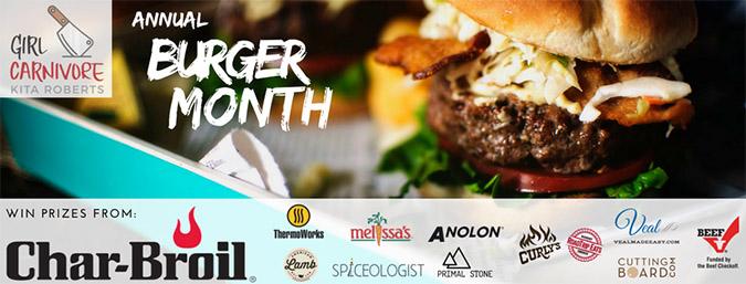 Burger Month 2017