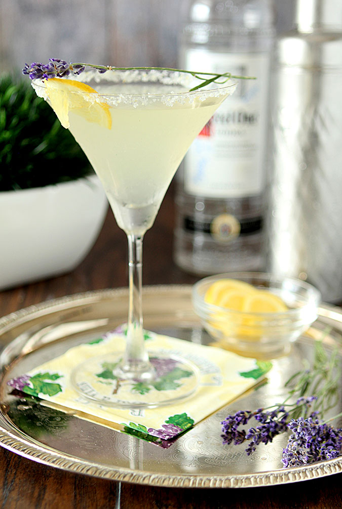 Lavender Lemonade Martini