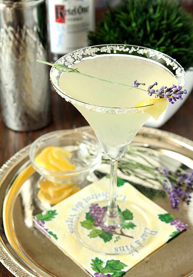 Lavender Lemonade Martini | Creative Culinary