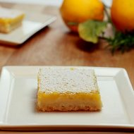 Lemon Curd Squares with Rosemary – 'In the Kitchen with A Good Appetite'