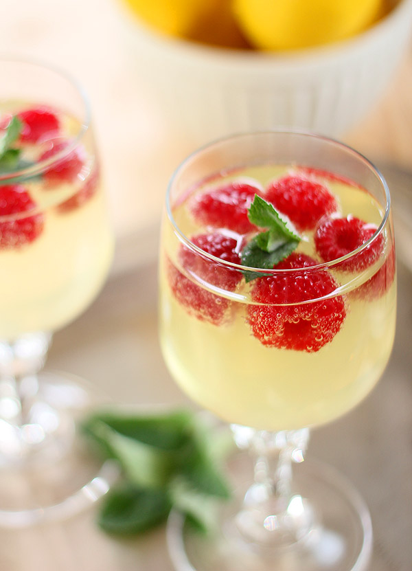 Raspberry Limoncello Cooler