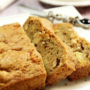 Apple and Toasted Walnut Bread
