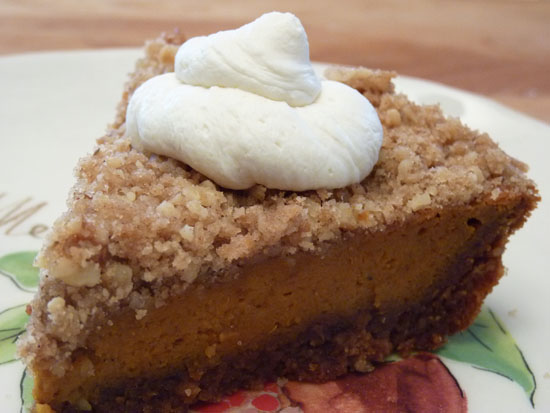 Maple Walnut Pumpkin Pie | Creative Culinary