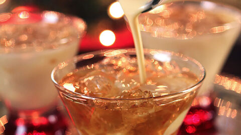 Eggnog Cocktail with Frangelico