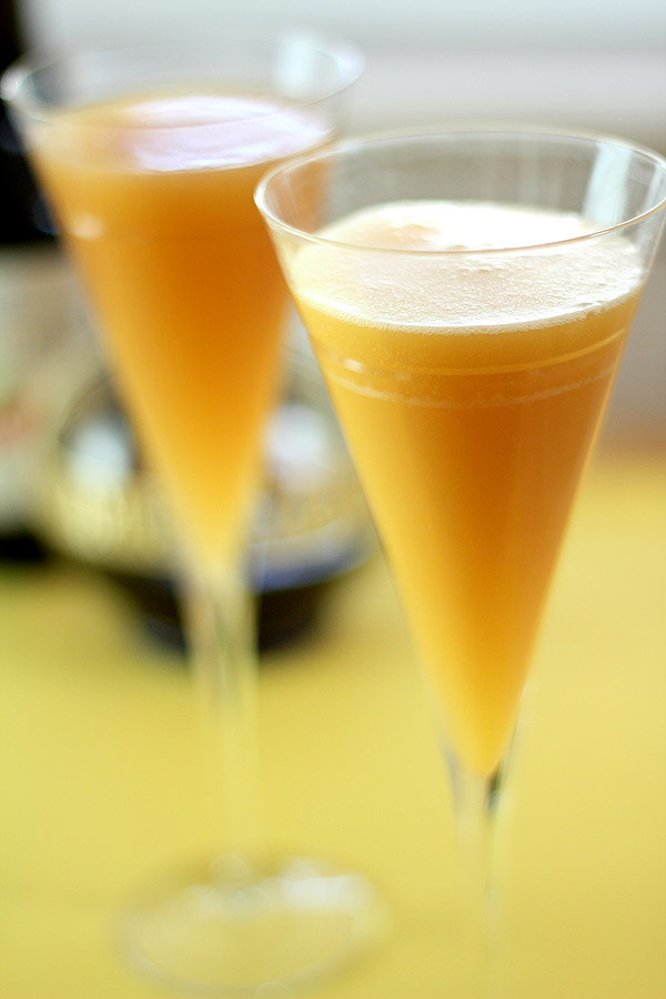 Mimosa with Liqueurs