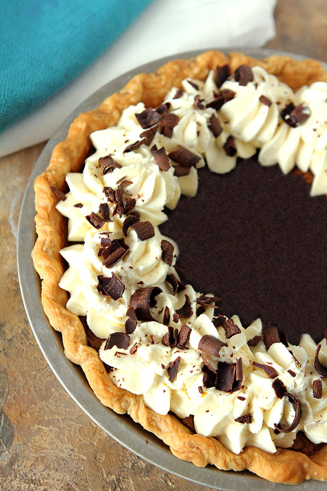 Minnie's Chocolate Pie from The Help