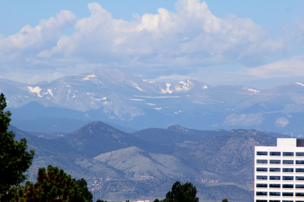 View of the Rocky Mountain Foothills