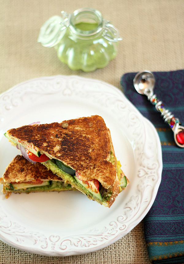 Mumbai Sandwich and an Invitation to Join us for #IndianFoodPalooza