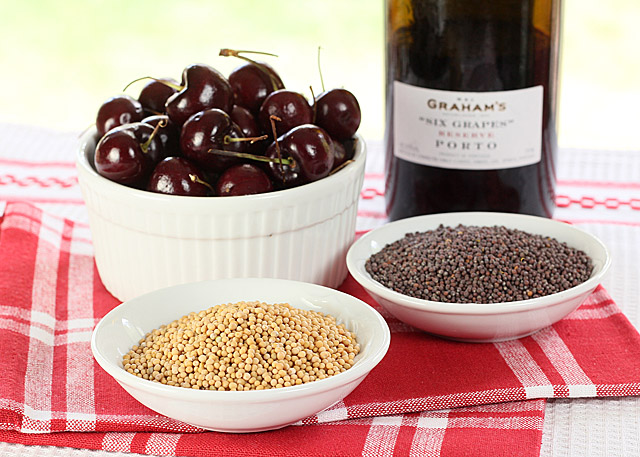 Port Wine Cherry Mustard