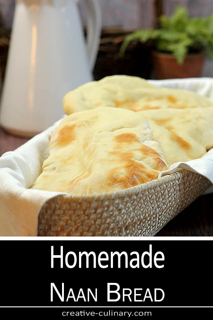 Naan - A Traditional Indian Flatbread