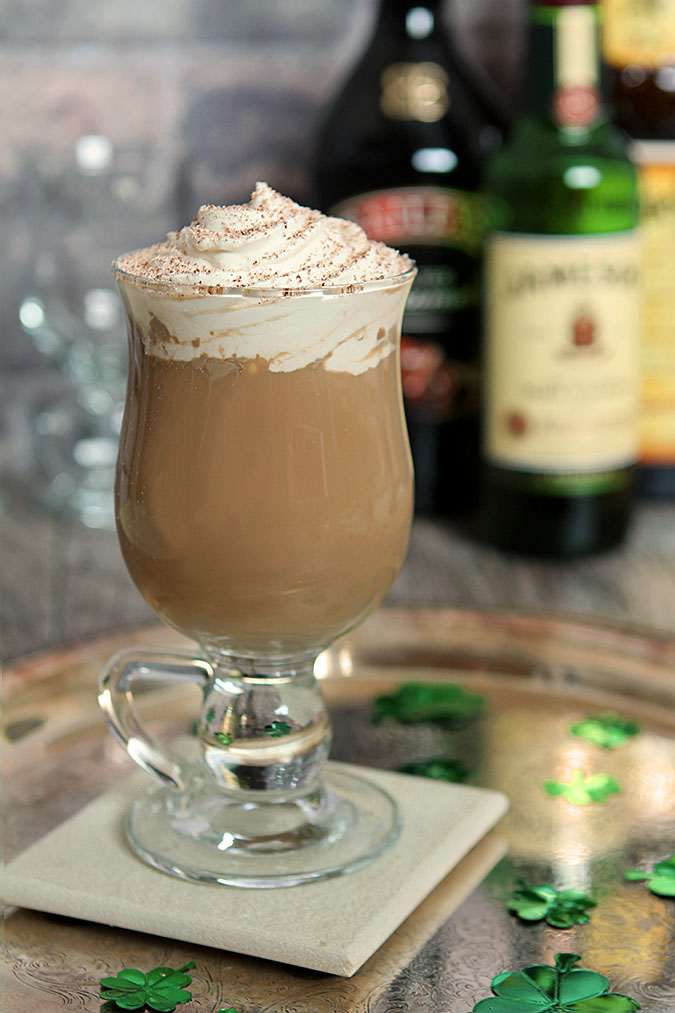 Nutty Irishman Coffee Drink