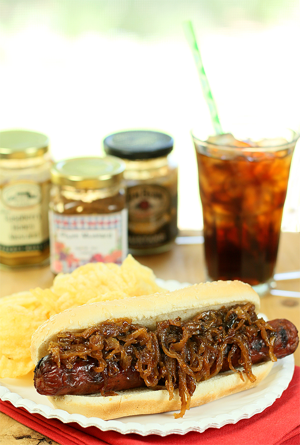 Hot Dogs Three Ways – Pepper Jam/Chili Sauce, Bourbon Caramelized ...