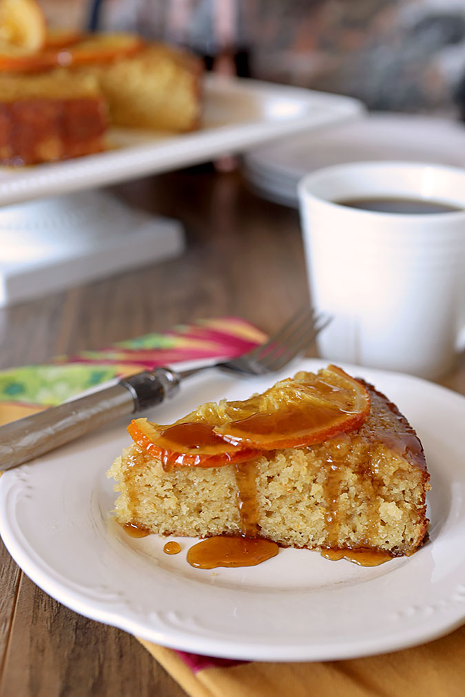 Isabella's Orange Cake from Jamie Schler's cookbook 'Orange Appeal; Savory & Sweet'