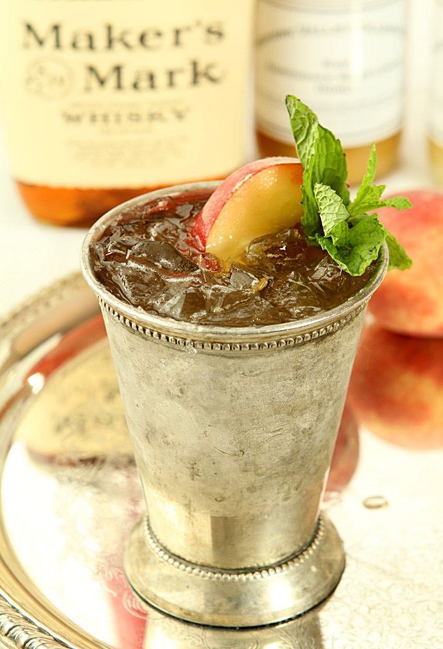 Honey Peach Mint Julep | Creative Culinary | A Denver, Colorado Food ...