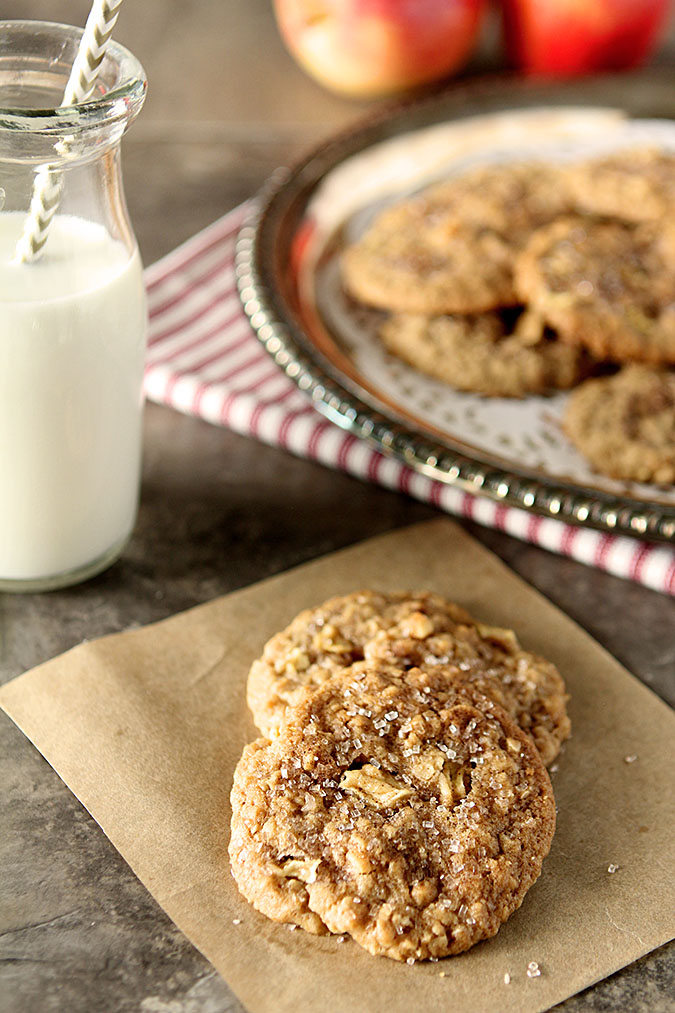Peanut Butter and Apple Oatmeal Cookies | Creative Culinary | A Denver ...