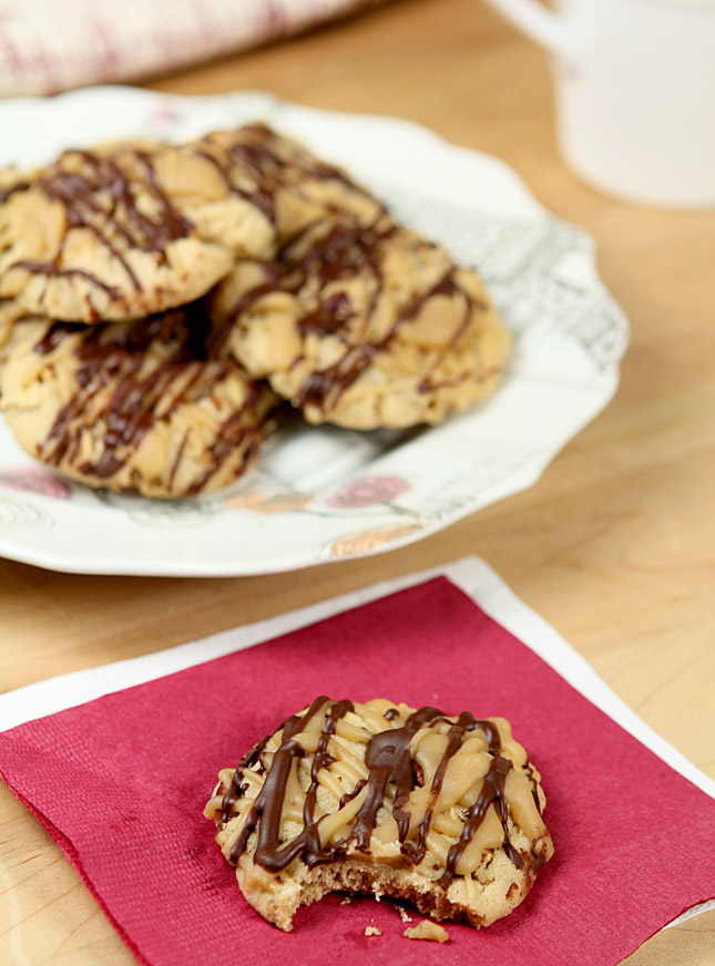 Toasted Pecan and Penuche Cookies with Dark Chocolate