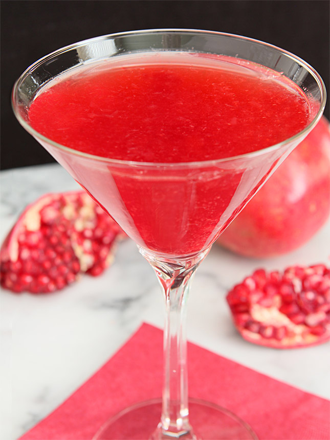 Imperial Pomegranate Cocktail