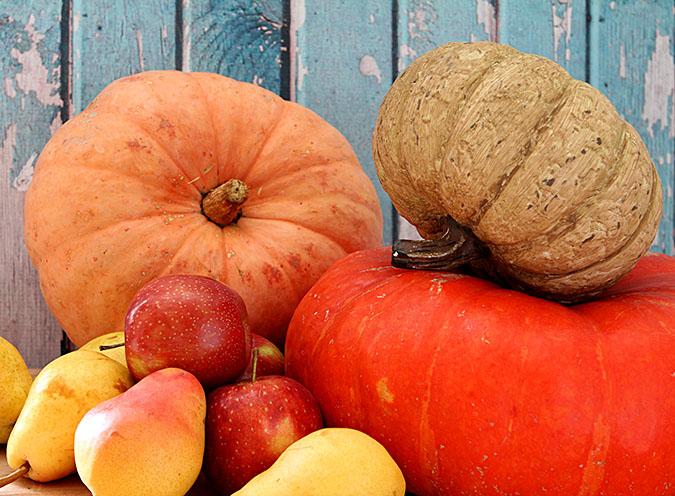 Fresh Pumpkins for Homemade Pumpkin Butter