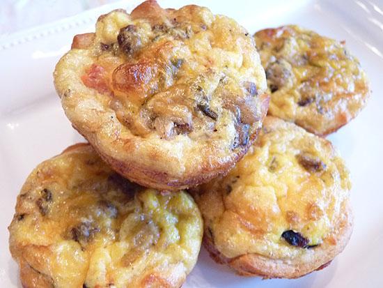 Quiche Muffin Cups
