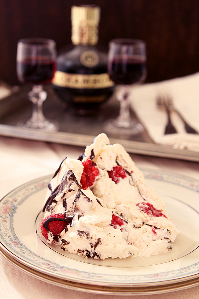 Raspberry Boccone Dolce - The Perfect Pavlova from Creative-Culinary.com